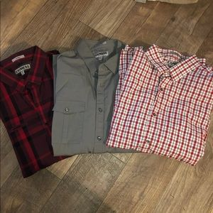 Express men's button down bundle